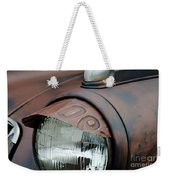 License Tag Eyebrow Headlight Cover  Weekender Tote Bag by Wilma  Birdwell