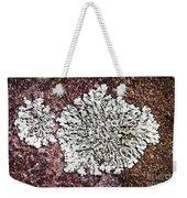 Lichen On Rock Weekender Tote Bag