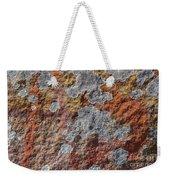 Lichen On Sandstone Weekender Tote Bag