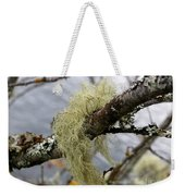 Lichen On Tree Weekender Tote Bag