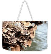 Lichens Abstract 2013 Weekender Tote Bag