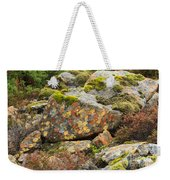 Lichens And Moss In Glen Strathfarrar Weekender Tote Bag