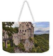Lichtenstein Castle Weekender Tote Bag