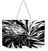 Licorice In Abstract Weekender Tote Bag