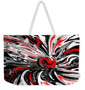 Licorice With Red Cherry Weekender Tote Bag