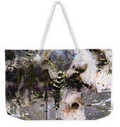 Life And Death On The River Of Rocks Trail Weekender Tote Bag