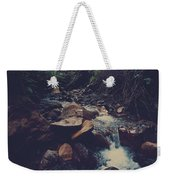 Life Flows On Weekender Tote Bag by Laurie Search