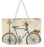 Life Is A Beautiful Ride Weekender Tote Bag by Jean Plout