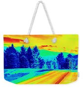 Life Is A Highway Weekender Tote Bag