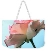 Life Is All Roses And Blue Sky Weekender Tote Bag