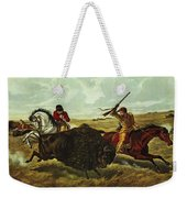 Life On The Prairie Weekender Tote Bag by Currier and Ives