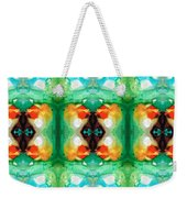 Life Patterns 1 - Abstract Art By Sharon Cummings Weekender Tote Bag