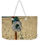 Life Preserver On The Beach In Pentwater Michigan Weekender Tote Bag