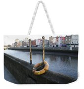 Life Saver -  Swiffey River - Dublin Ireland Weekender Tote Bag