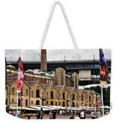 Life Under The Bridge Weekender Tote Bag