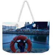 Lifebelt At Albert Dock Weekender Tote Bag