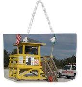 Lifeguard And Beachpatrol Weekender Tote Bag