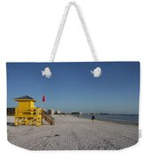 Lifeguard On Siesta Key Weekender Tote Bag