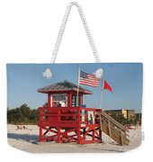 Lifeguard Siesta Beach Weekender Tote Bag