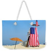 Lifeguard 9-11 Tribute Weekender Tote Bag