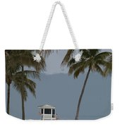 Lifeguard Station Abstract Weekender Tote Bag