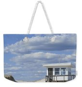Lifeguard Station Island Beach State Park Nj Weekender Tote Bag