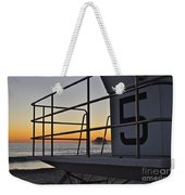 Lifeguard Tower 5  Weekender Tote Bag
