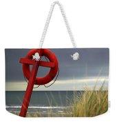 Lifesaver On The Beach Weekender Tote Bag