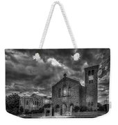 Light Above The Church Weekender Tote Bag