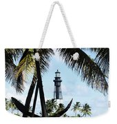 Light And Anchor Weekender Tote Bag