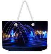 Light And Water In Motion Weekender Tote Bag