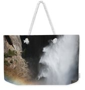 Light And Water - Yosemite Falls Weekender Tote Bag