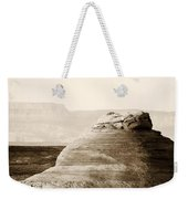 Light Around The Curve Weekender Tote Bag