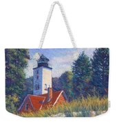 Light At Presque Isle Weekender Tote Bag