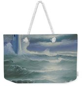 Light At Sea Weekender Tote Bag