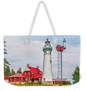 Light At Seul Choix Point Weekender Tote Bag