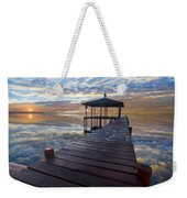 Light At The Lake Weekender Tote Bag