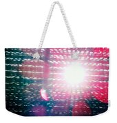 Light Beams Weekender Tote Bag