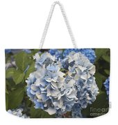 Light Blue Weekender Tote Bag