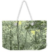 Light Forest Scene Weekender Tote Bag