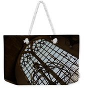 Light - Arched Windows And Golden Chandeliers Weekender Tote Bag