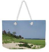 Light House Beach Weekender Tote Bag