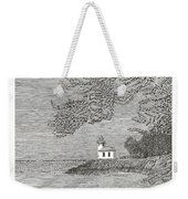 Light House On San Juan Island Lime Point Lighthouse Weekender Tote Bag