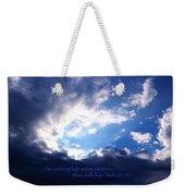 Light II Weekender Tote Bag