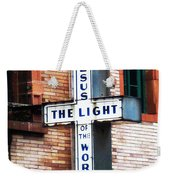 Light In The City Weekender Tote Bag