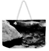 Light In The Stream Bw Weekender Tote Bag