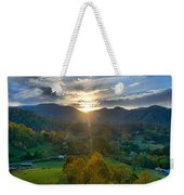 Light In The Valley Weekender Tote Bag