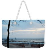 Light Is On Weekender Tote Bag