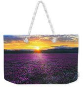 Light Just Right Weekender Tote Bag