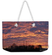 Light My Sky Weekender Tote Bag